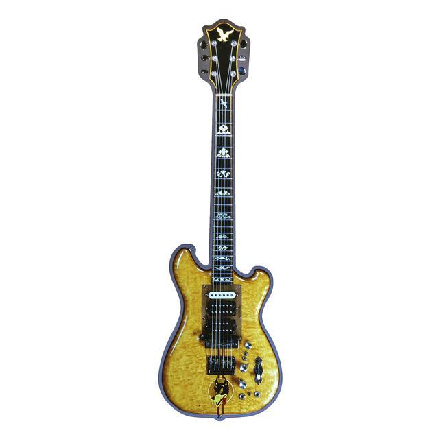 Jerry Garcia Wolf Guitar Acrylic Magnet