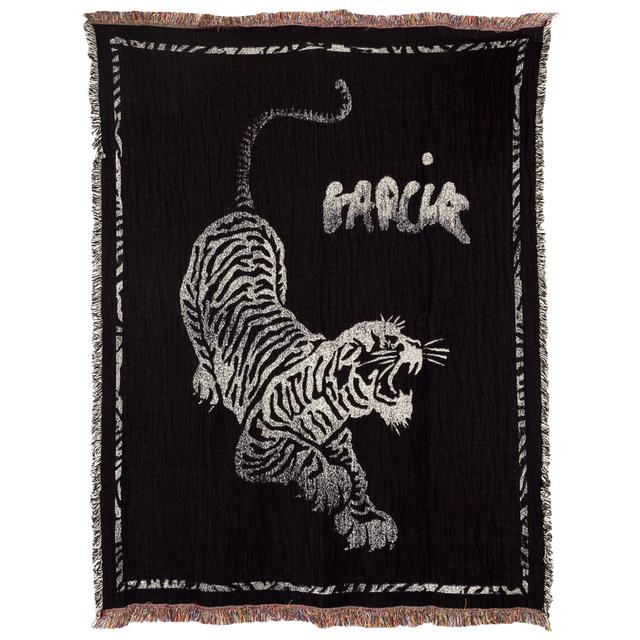 Jerry Garcia Tiger Blanket/Tapestry