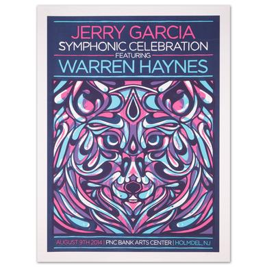 Jerry Garcia Symphonic Celebration PNC Bank Arts Center 2014 Event Poster