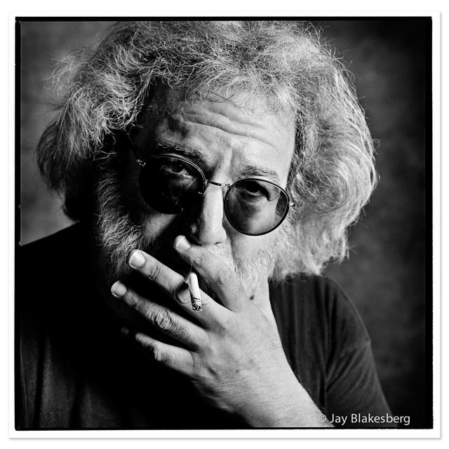 Jerry Garcia - The Smoker, 1993 by Jay Blakesberg