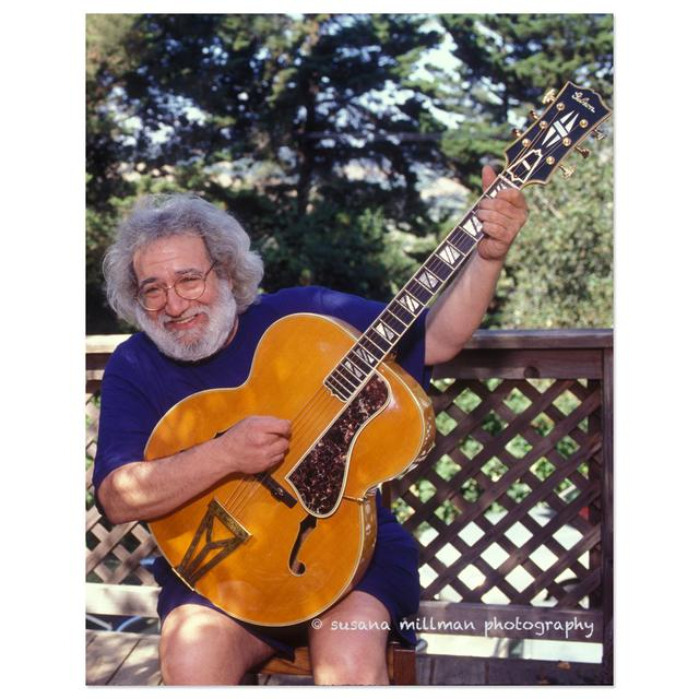 Jerry Garcia - Good Times on the Deck, 1993 by Susana Millman