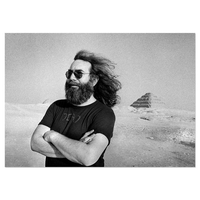 Jerry Garcia Jerry in Cairo, 1978 by Adrian Boot