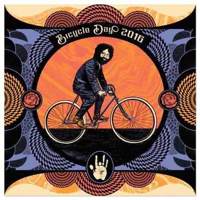 Jerry Garcia Bicycle Day Limited Edition Screen Print