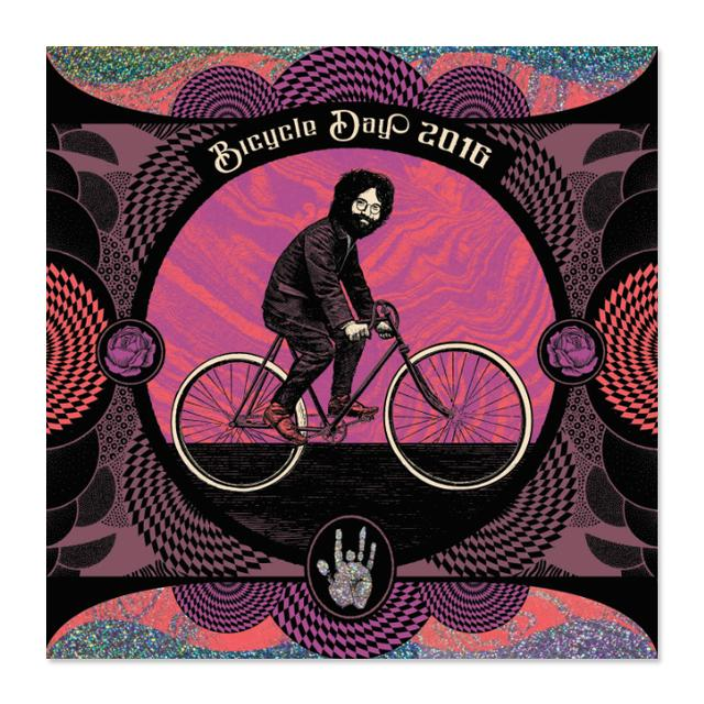 "Jerry Garcia Bicycle Day ""Purple Haze"" Variant"