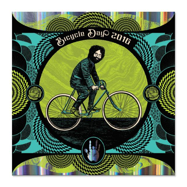 "Jerry Garcia Bicycle Day ""Sandoz"" Variant"