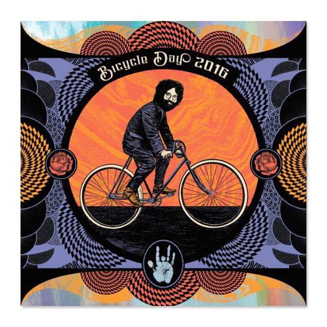 "Jerry Garcia Bicycle Day ""Windowpane"" Variant"