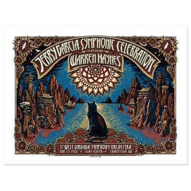 Jerry Garcia Symphonic Celebration featuring Warren Haynes Charleston Event Poster