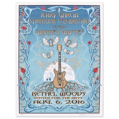 Jerry Garcia Symphonic Celebration Bethel 2016 Event Poster