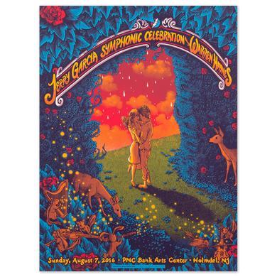 Jerry Garcia Symphonic Celebration Holmdel 2016 Event Poster