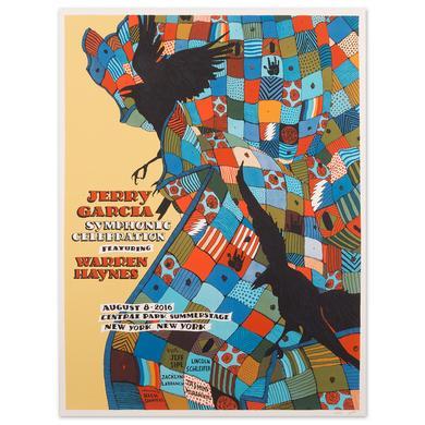 Jerry Garcia Symphonic Celebration Central Park 2016 Event Poster