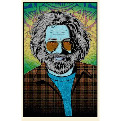 """Jerry Garcia """"Tangled Up In Blue"""" Limited Edition Print by Chuck Sperry"""