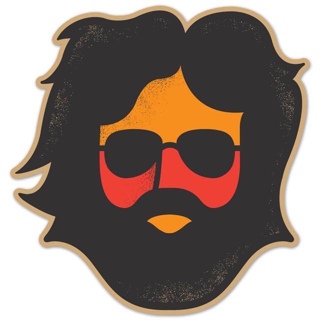 Jerry Garcia Sticker | Keystone