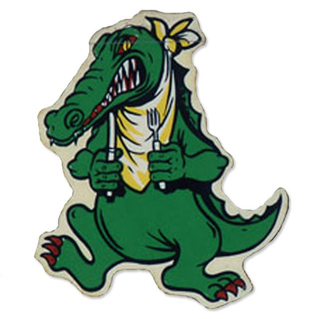 Jerry Garcia Alligator Sticker