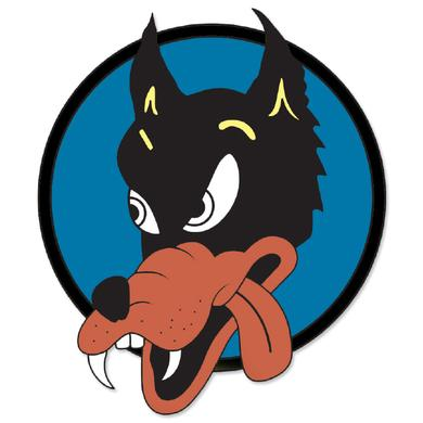Jerry Garcia Wolf Sticker