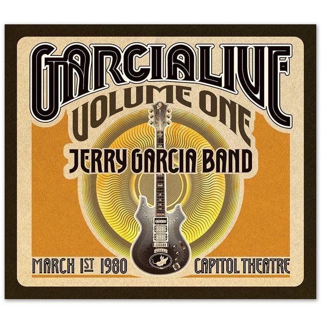 Jerry Garcia Band - GarciaLive Volume 1: Capitol Theatre, 3/1/80 3-CD Set