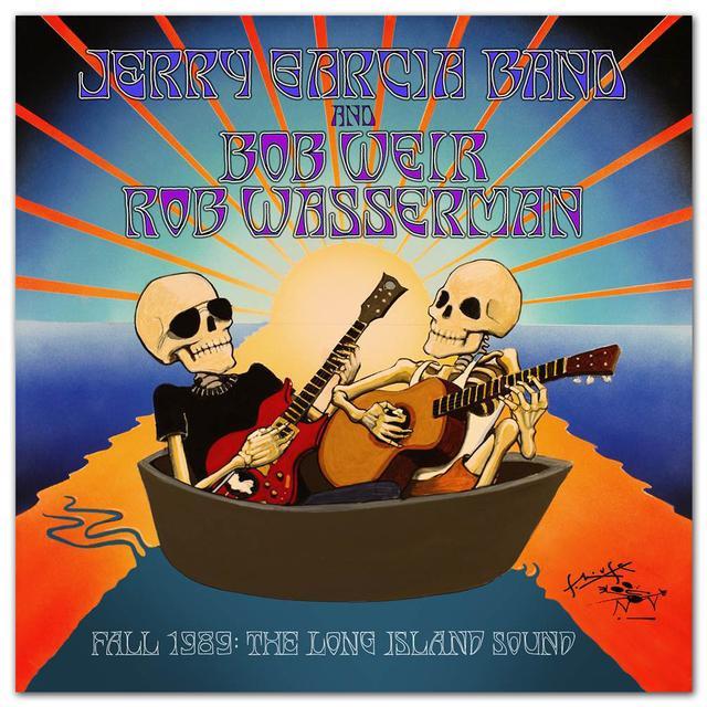 Jerry Garcia Fall 1989: The Long Island Sound 6-CD Box Set