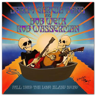 Jerry Garcia Fall 1989: The Long Island Sound 6-CD Box Set