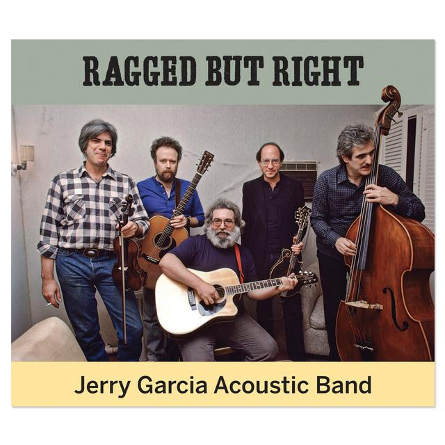 The Jerry Garcia Acoustic Band: Ragged But Right CD