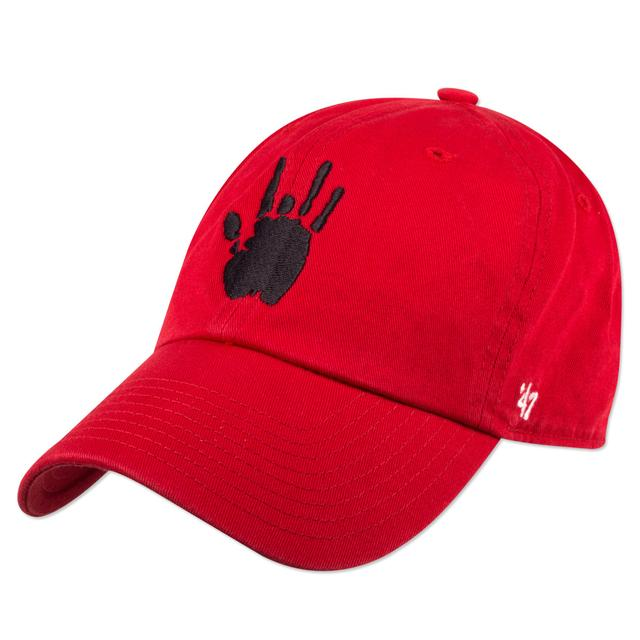 Jerry Garcia Handprint Baseball Hat with Black Logo