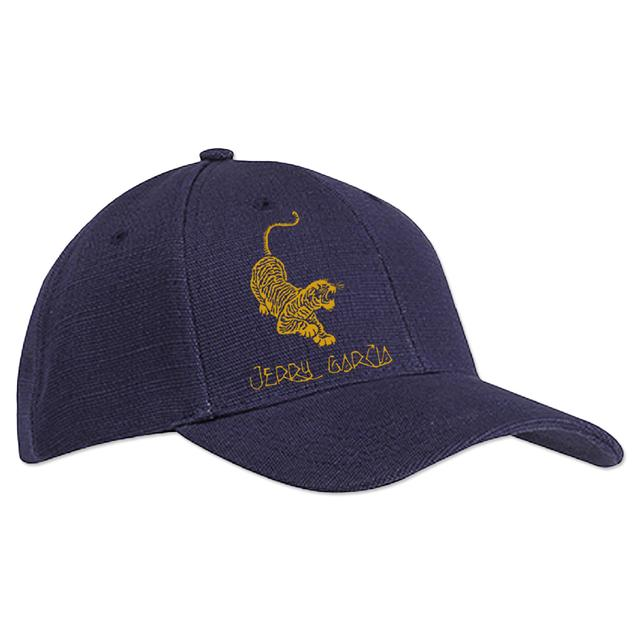 Jerry Garcia Tiger Hemp Baseball Hat