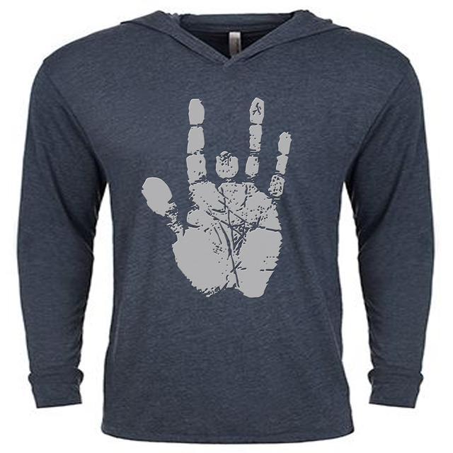 Jerry Garcia Handprint Long-Sleeve Hoodie