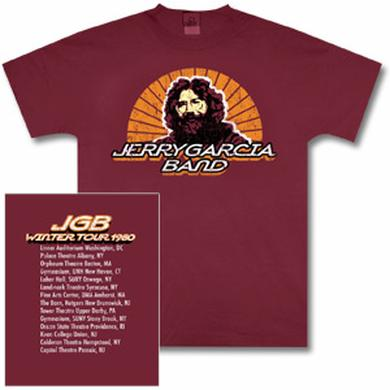 Jerry Garcia Band 1980 Tour T-Shirt
