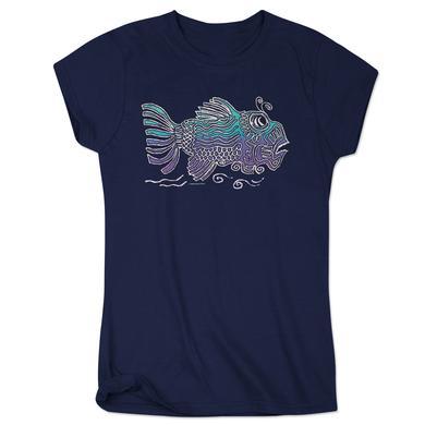 Jerry Garcia Women's Garcia Fish Shirt