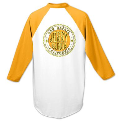 Jerry Garcia Baseball T-Shirt in Gold