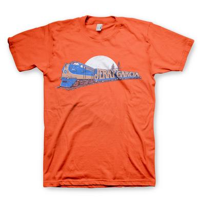 Jerry Garcia Freight Train T-Shirt Orange