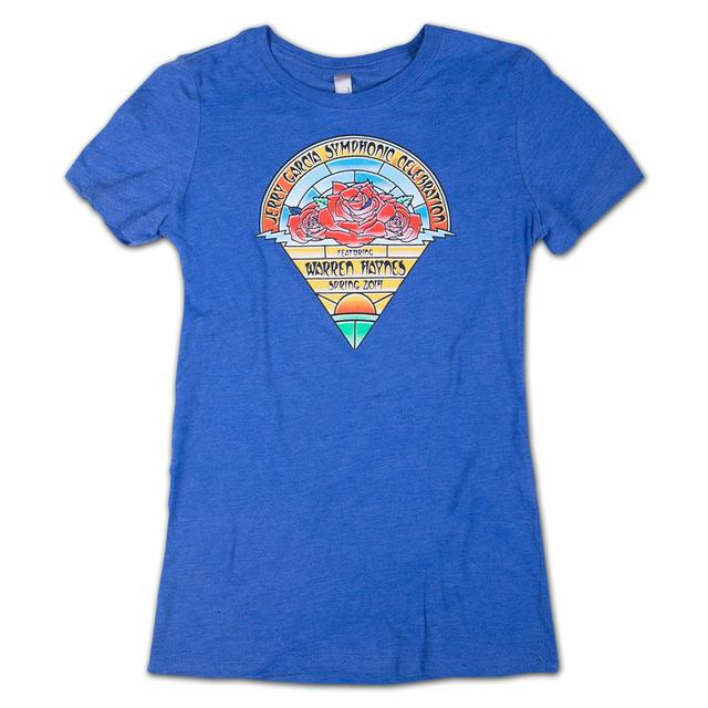 Jerry Garcia Symphonic Celebration Spring 2014 Tour Women's T-Shirt