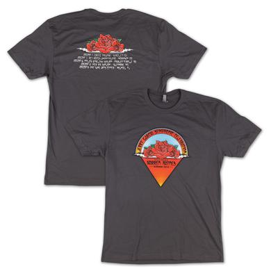Jerry Garcia Symphonic Celebration Summer 2014 Tour Men's T-shirt (Charcoal)