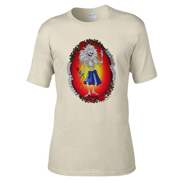 Jerry Garcia Rosebud Organic T-shirt