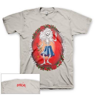 Jerry Garcia Organic Rosebud T-shirt