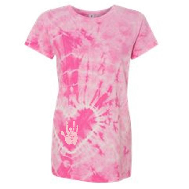 Jerry Garcia Handprint Women's Tie Dye