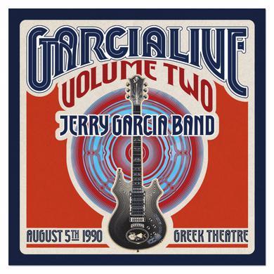 Jerry Garcia Band - GarciaLive Volume 2: 8/5/90 2-CD Set