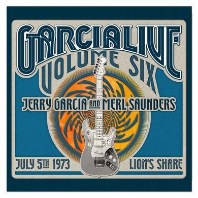 Jerry Garcia & Merl Saunders - GarciaLive Volume 6: 7/5/73 3-CD Set