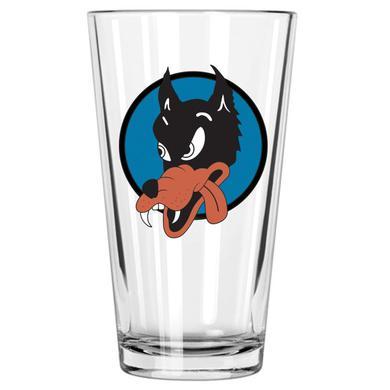 Jerry Garcia Wolf Pint Glass