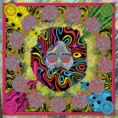 """Jerry Garcia """"Bicycle Day 2018"""" (Lava Variant) Limited Edition Print by Caitlin Mattisson and Alan Forbes"""