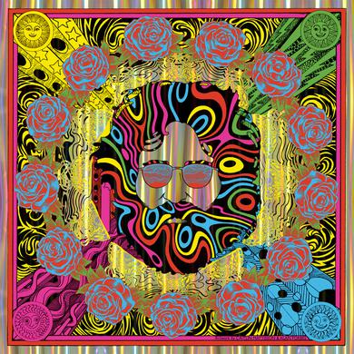 """Jerry Garcia """"Bicycle Day 2018"""" (Pillars of Light Variant) Limited Edition Print by Caitlin Mattisson and Alan Forbes"""
