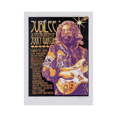 Jerry Garcia Jubilee Limited Edition AJ Masthay Event Poster