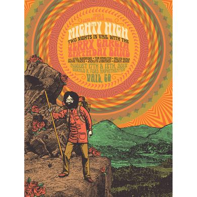 Jerry Garcia Mighty High Limited Edition Poster