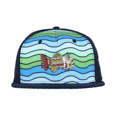 Jerry Garcia Grassroots California Waves Shallow Strapback