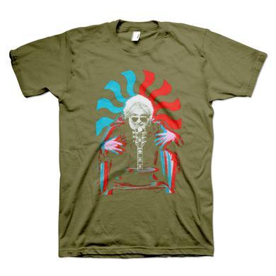 Jerry Garcia 3D Jerry Organic T-Shirt