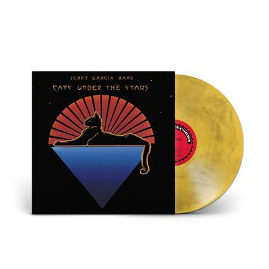 Jerry Garcia Band - Cats Under The Stars 180g Marbled Gold LP (Vinyl)