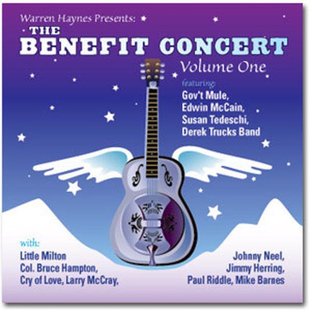 Govt Mule Warren Haynes Presents: The 1999 Benefit Concert Volume 1 2-CD Set