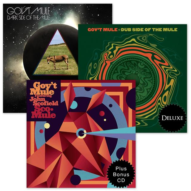 Govt Mule Archival Release CD Bundle