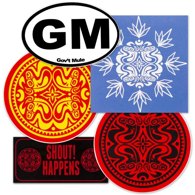 Govt Mule Sticker Bundle