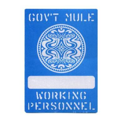Govt Mule Photo Pass at Show