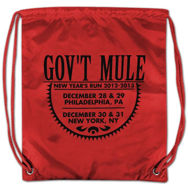 Gov't Mule 2012-2013 New Year's Run Drawstring Backpack
