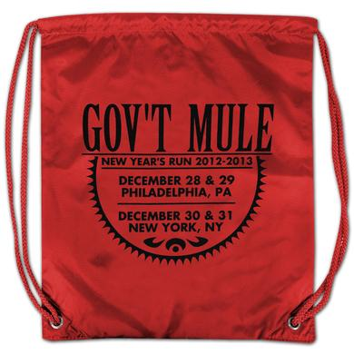 Gov't Mule 2012-2013 New Year's Run Drawstring Backpack
